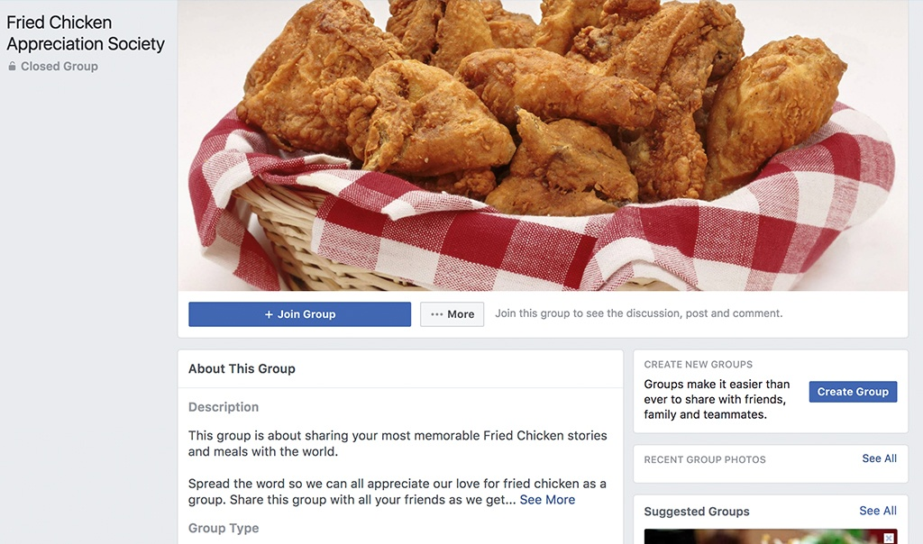 fried chicken appreciation society group facebook chicken peices in a basket