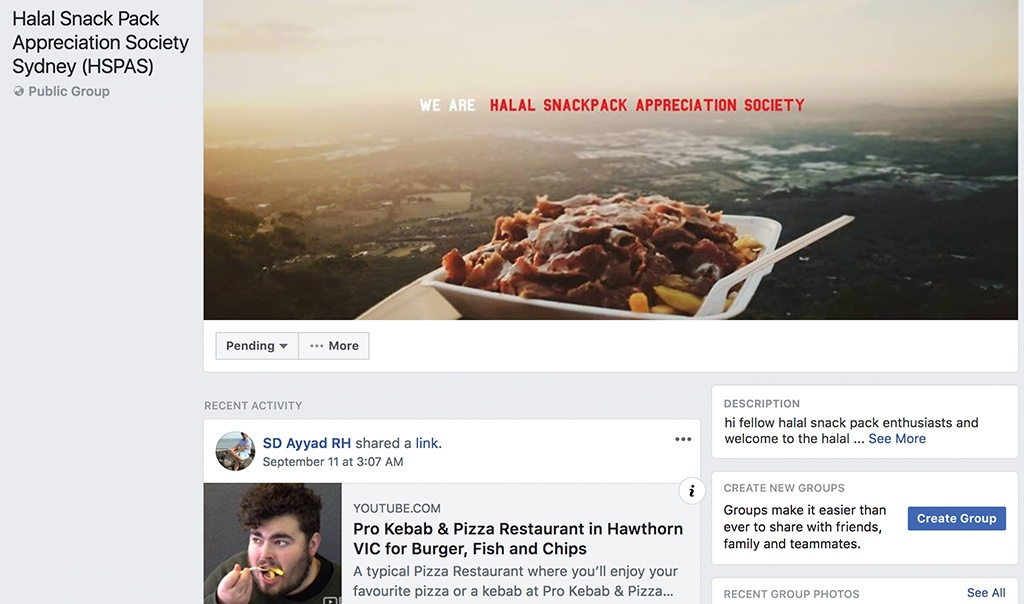 halal snack pack appreciation society sydney group facebook