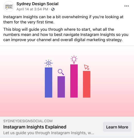 Screenshot of Sydney Design Social blog