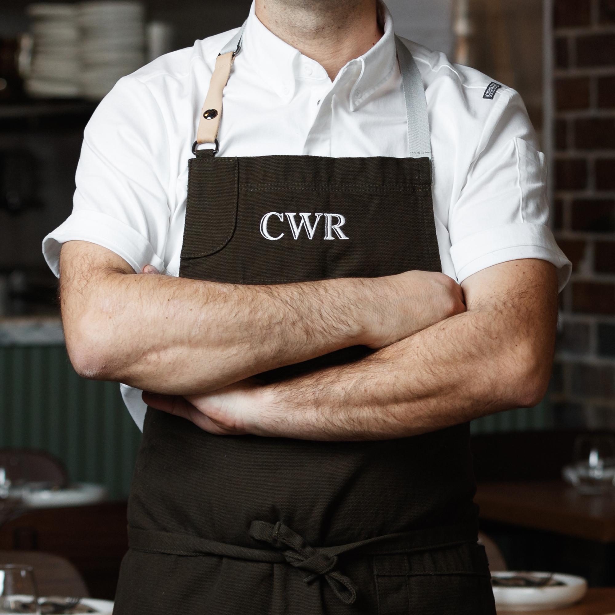 sydney design social coogee wine room logo branding uniform apron chef