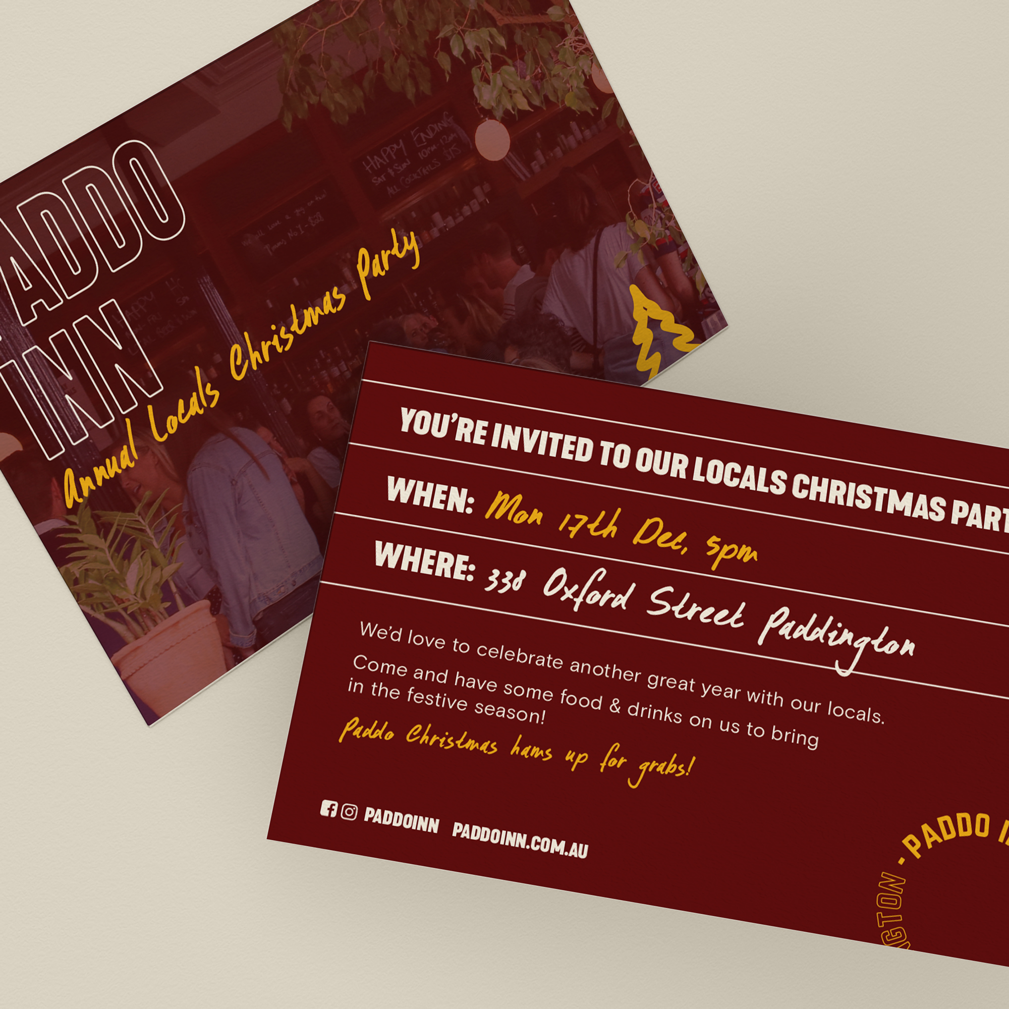 invitation design for solotel
