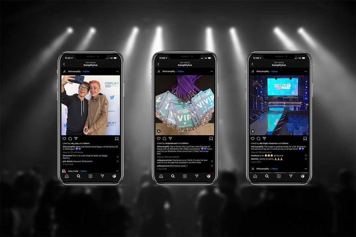 sydney design social amplify live social media branding rimmel london