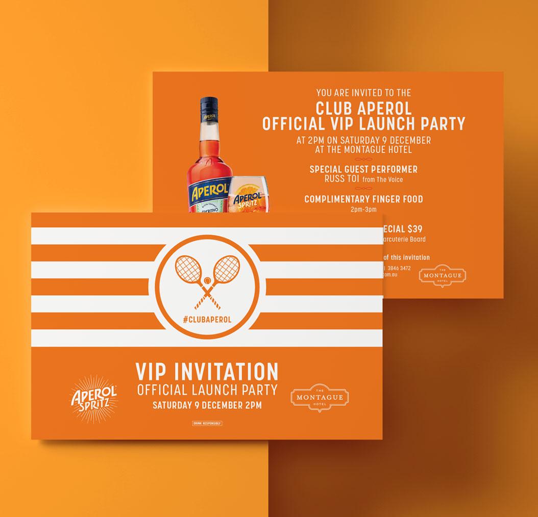 sydney-design-social-aperol-spritz-vip-club-invite-orange-white