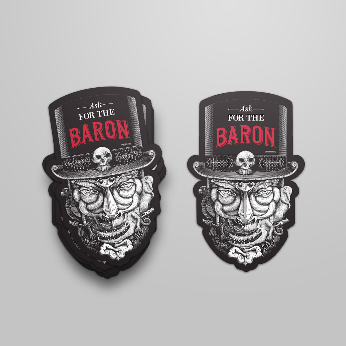 sydney-design-social-baron-samedi-stickers-head
