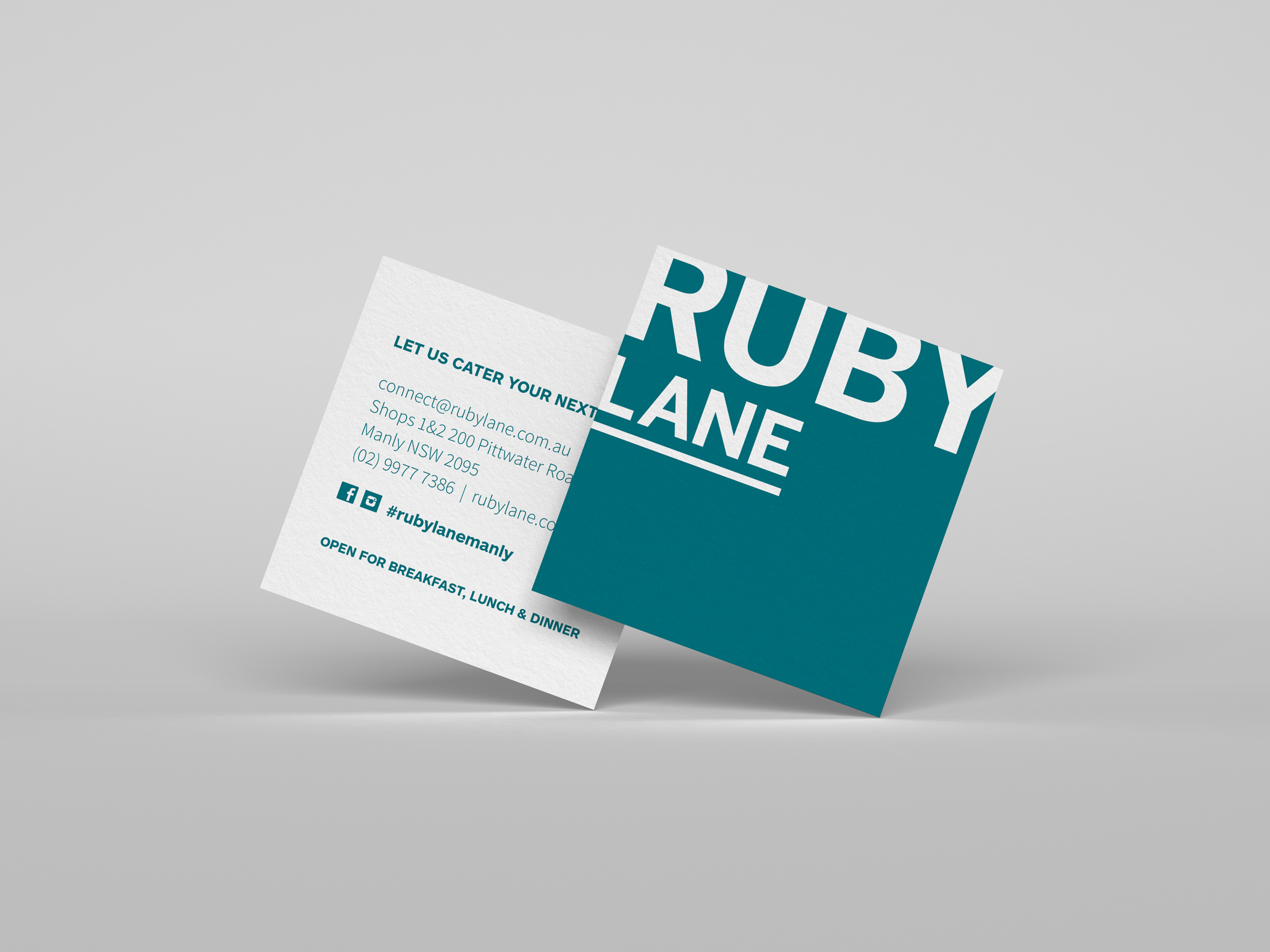 business card design sydney
